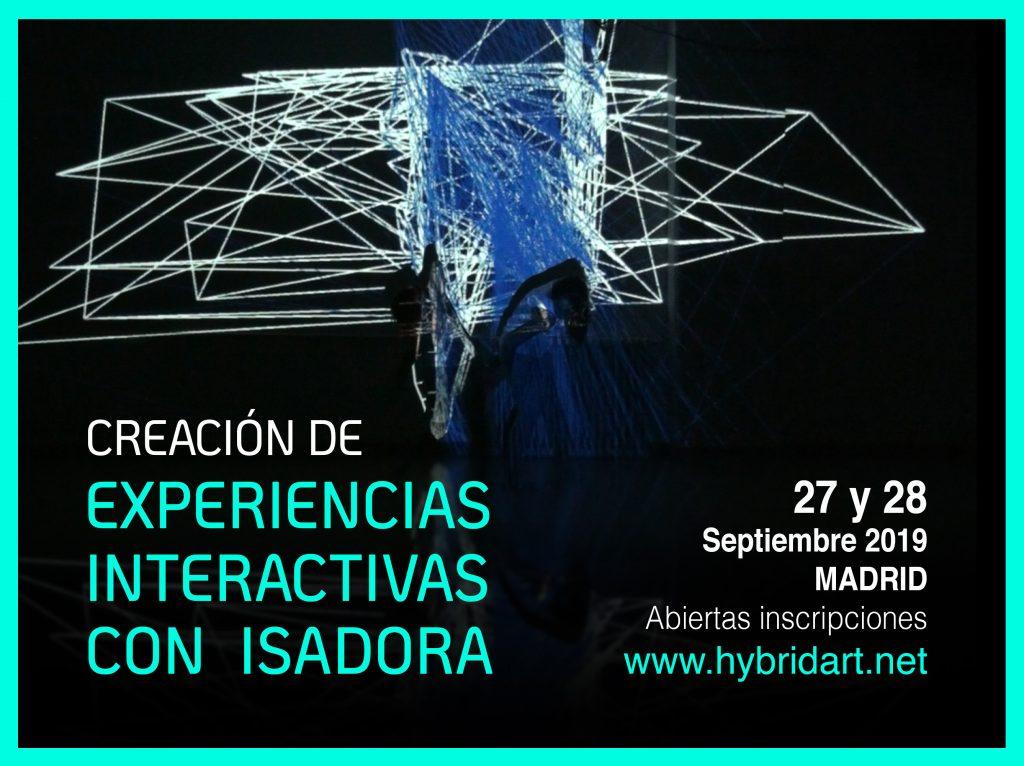 Taller de creación de instalaciones interactivas en Madrid