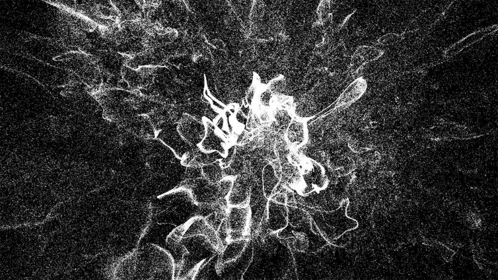 sistema de partículas con Openframeworks