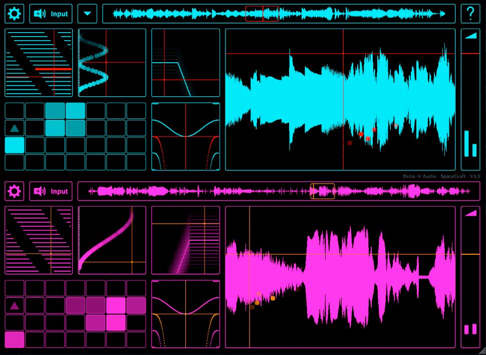 Spacecraft sintetizador granual