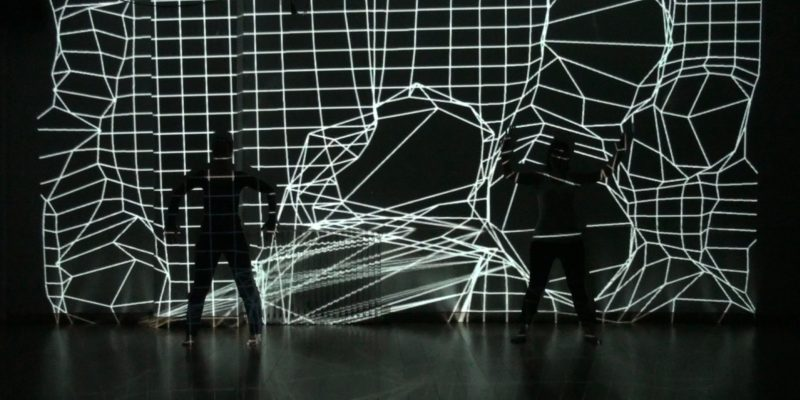 Aula de danza interactiva - Estudio 3 - Madrid